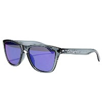 (オークリー) Oakley FROGSKINS SUNGLASSES ASIAN FIT OO 9245-18 CRYSTAL BLACK/+RED IRIDIUM フロッグスキン アジアンフィット サン...