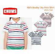 【CHUMS チャムス】CH22-1002<Kid's Booby Dry Polo Shirt キッズブービードライポロTシャツ >※取り寄せ品 楽天カード...