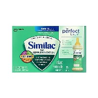 Similac【For Supplementation the Perfect bottle 乳児用 液体ミルク 8本セット ニップル &リング付き 栄養補強 12ヶ月未満 ...