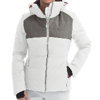 フェニックス Phenix レディース スキー ウェア【Phenix Orchid Down Ski Jacket - Waterproof】White/Grey【10P03Dec16】
