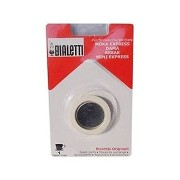 Bialetti: replacement for Moka Express 1-cups (3 gasket + 1 filter) [ Italian Import ]