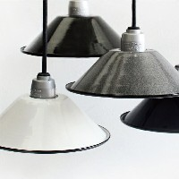 PUEBCO[プエブコ]HEAVY DUTY ENAMEL IRON LAMPSHADE