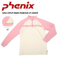 PHENIX フェニックス インナー GIRLS ZIPUP INNER PEGB4306 LP JUNIOR