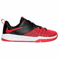 Nike Team Hustle D 7 Low Basketball Shoesキッズ/ジュニア Black/University Red/White NIKE ハッスル バスケットシューズ ローカッ...