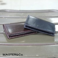 MASTER&Co.(マスターアンドコー) / UK Bridle Leather Card Case -BROWN-