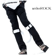 ankoROCK アンコロック スキニーパンツ メンズ スキニーパンツ レディース スキニーパンツ ユニセックス スリム...