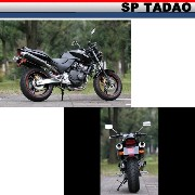 【SP TADAO】【SP忠男】【マフラー】【HONET250】SUPER COMBAT Type TwoTail Fw【HO2-TW-01】 【取寄品】