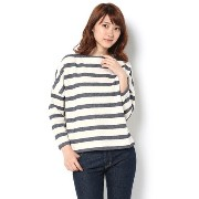 【LEE 5月号タイアップ】heliopole別注 Traditional Weatherwear ボーダートップス【エリオポール/heliopole Tシャツ・カッ...