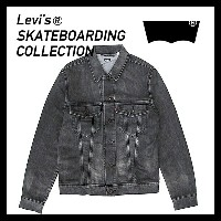 Levi's skateboarding collection 【 SKATE TRUCKER 】リーバイス[23927-0002(S&E BLACK BATTERY)] 3rd Gジャン リーバイススケートボー...