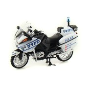 BMW R1200RT-P NYPD Police Motorcycle 1/12 NYPD - Police Motorcycle Toy - NewRay NewRay 並_行_輸_入
