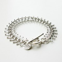 【PHILIPPE AUDIBERT/フィリップオーディベール】Chain Bracelet Silver Color