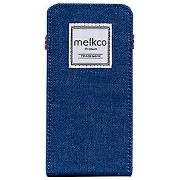 MELKCO iPhone 6 Plus用 Denim Case Indigo Series フリップスタイル melkco MKIOFCIP65BEJN