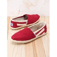 TOMS W CLSC Red Stripe トムス【送料無料】