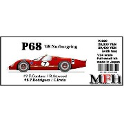 P68'68 Nurburgring【1/24 K-220Full detail kit】