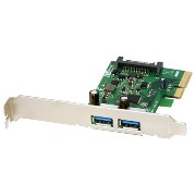 【送料無料】RATOC USB3.1 PCI Expressボード(Type-A ×2) REX-PEU31-A2 [REXPEU31A2]【1201_flash】【10P03Dec16】