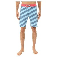"ボルコム メンズ 水着 水着 Stripey Slinger 19"" Boardshorts Smokey Blue"