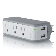 Belkin Mini Surge Protector with USB Charger [BZ103050-TVL]