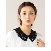 (LL ACCESSORIES)NL125 JEWEL/LACE NECKLACE【ローズバッド/ROSEBUD ネックレス】