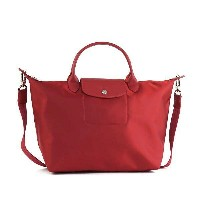LONGCHAMP 1515-578-379LE PLIAGE NEOロンシャン ル プリアージュ ネオナナメガケバッグナイロン/レザー RUBY