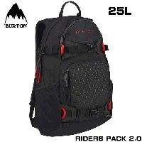 BURTON(バートン) RIDERS PACK 25L 2.0 BLACK CORDURA (11038103005) リュック バッグ【05P03Dec16】【s2】
