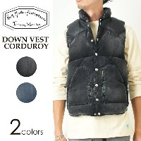 Rocky Mountain Featherbed ロッキーマウンテン ダウンベスト コーデュロイ メンズ DOWN VEST CORDUROY 450-512-04【コンビニ受...