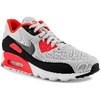 NIKE ナイキ AIR MAX 90 ULTRA SE エアマックス90 ウルトラSE メンズ スニーカー PURE PLATINUM | NEUTRAL GREY | BRIGHT CRIMSON 845039...