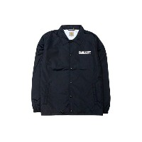 ●Carhartt WIP COLLEGE COACH JACKET (BLACK/WHITE)カーハート/コーチジャケット/黒