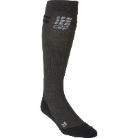 CEP CEP メンズ サイクリング ソックス【Progressive Plus Run Merino Sock】Anthracite/Black