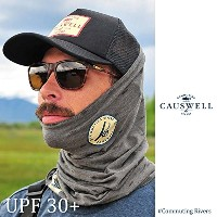 CAUSWELL / コウズウェル All Over Fish Print Gaiter (Gray) UVカット UPF30