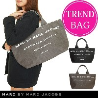 【J-pia価格】マークバイマークジェイコブス トートバッグ MARC BY MARC JACOBS トート バッグ ファスナー付き コッ...