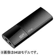 SILICON POWER USB2.0メモリ Ultima U05 (16GB・ブラック) SP016GBUF2U05V1K