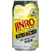 JINRO DRY SPLASH 350ml×24本