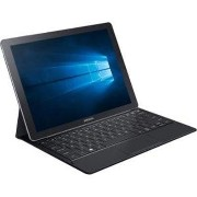 "Samsung Galaxy TabPro S - Tablet - with detachable keyboard - Core m3 6Y30 / 2.2 GHz - Win 10 Pro - 4 GB RAM - 128 GB SSD - 12"" OLED Super AMOLED touchscreen..."