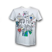 Red Hot Chili Peppers バンドTシャツ Doodle XS
