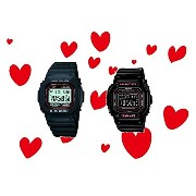 CASIO G-SHOCK/BABY-G ペアウォッチ GW-M5610-1JF&BGD-5000-1JF