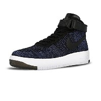 NIKE AIR FORCE 1 ULTRA FLYKNIT MID GAME ROYAL/BLACK-WHITE 817420-400 (26)