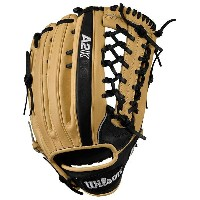 ウィルソン メンズ 野球 グローブ【Wilson A2K KP92 Pro Laced Web Fielder's Glove】Blonde/Black【10P03Dec16】
