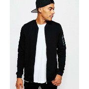 ASOS エイソス MA1 Bomber Jacket ジャケット In Jersey With Pocket