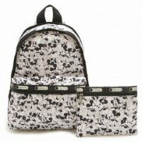 LeSportsac 7812-P928 BASIC BACKPACK ディズニー ベーシック リュックサック バッグ MICKEY LOVES MINNIE/ 【f】【新品/未使用/...