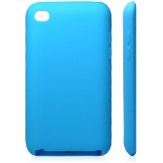 iPod Touch 4 Silicone Case(Light Blue ) Touch 4 シリコンケース チョコレート豆 ライトブルー (362-5)