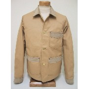 DUCK DIGGER[ダックディガー] カバーオール DUCK COVERALL (BEIGE)